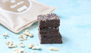 בראוניז שוקולד חלבה ללא גלוטן ב 5 רכיבים