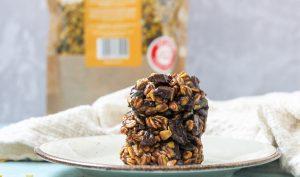 עוגיות גולדן גרנולה ב 3 רכיבים